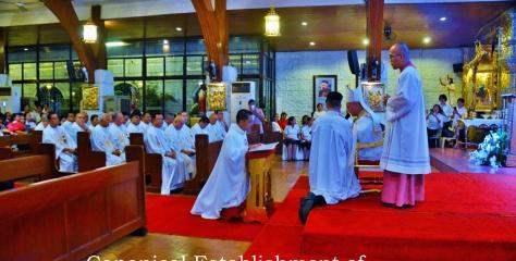Violago Chapel becomes quasi-parish